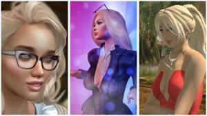 Taya, Belinda and Pattie Collage